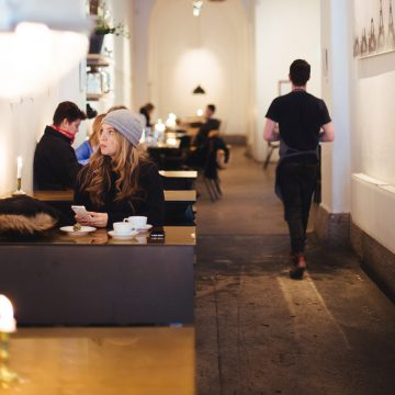 Relaxed Cafe Atmosphere, Casual Dining, NY